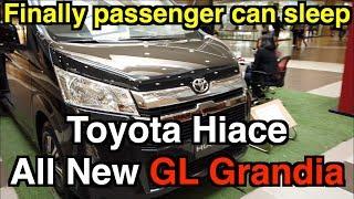 All New GL Grandia 2019 2020 Toyota Hiace Walk around Review