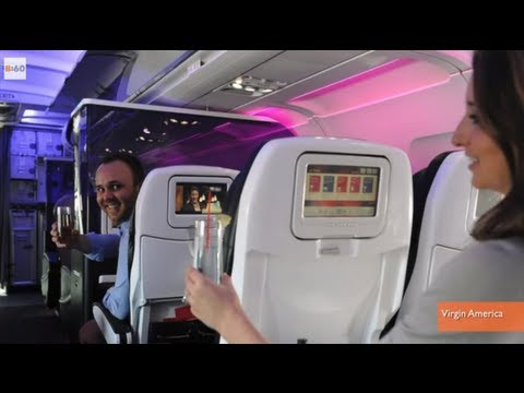 Virgin America Airline Wants to Help Passengers Hook-Up