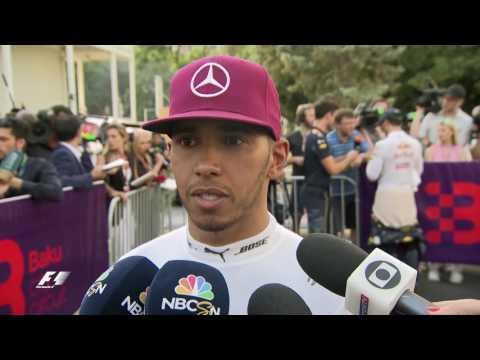 Drivers Report Back After Inaugural Baku Race