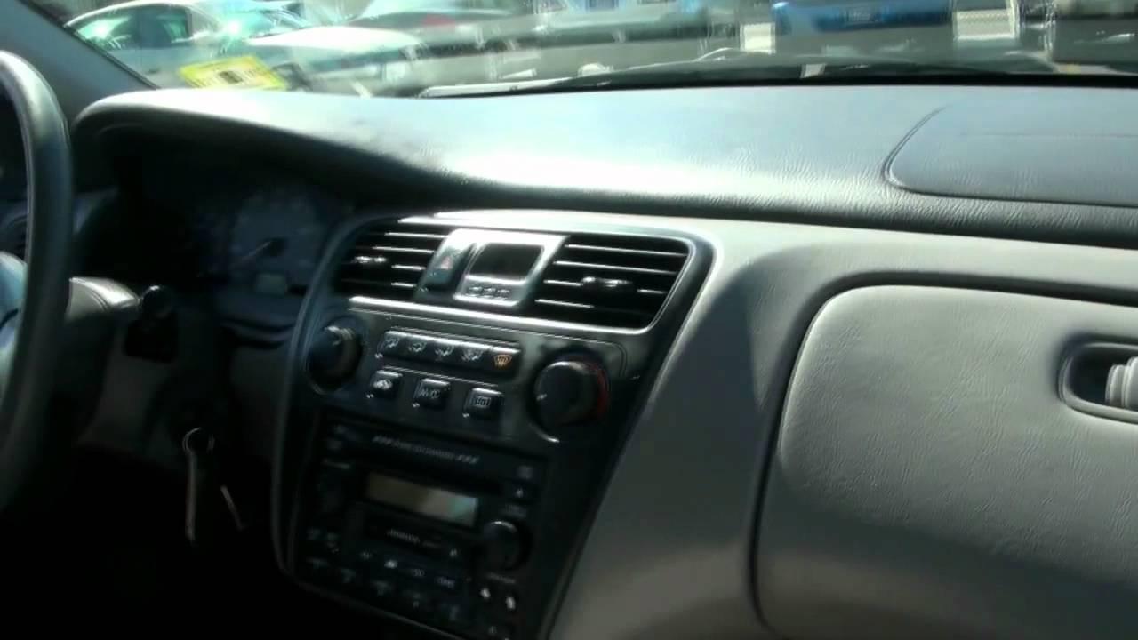 2002 Honda Accord EX Sedan - YouTube