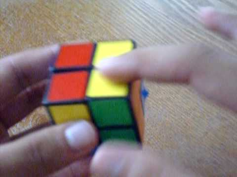 Watch How to solve a Rubik's 2x2