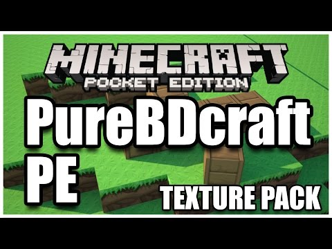 BEST TEXTURE PACK!!! - Minecraft PE (Pocket Edition) 0.13.1