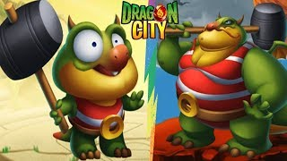 ✔️STRONG MAN DRAGON @@ Ussop Với Búa Tạ 10 Ngàn Tấn | Dragon City Game Mobile Android, Ios