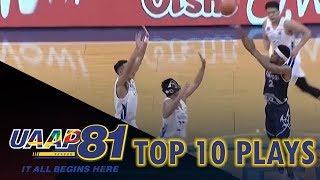 Top 10 Plays - Week 1 | UAAP Season 81 Men's Basketball