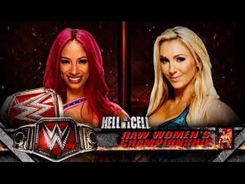 Sasha Banks vs Charlotte l Hell in a Cell l Español latino l Combates WWE