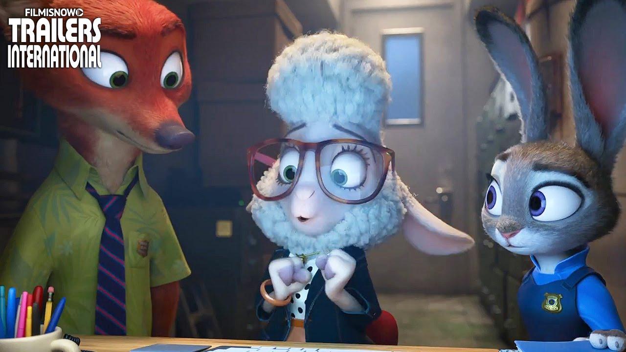 ZOOTOPIA - compilação novos clipes [animação da Disney] HD