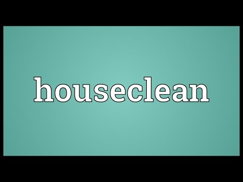 Header of houseclean