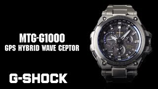 CASIO G-SHOCK MT-G MTG-G1000 product video
