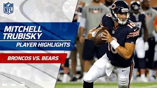 Every Mitchell Trubisky Throw Against Denver | Broncos vs. Bears | Preseason Wk 1 Player Highlights