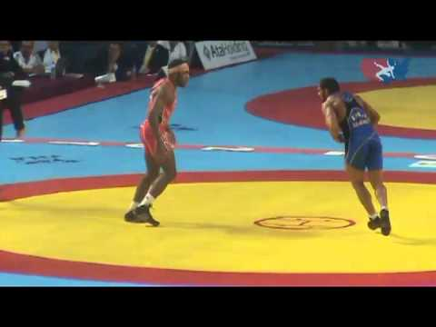 2011 Worlds Freestyle 74kg Final - Jordan Burroughs (USA) vs. Sadegh Goudarzi (IRI)