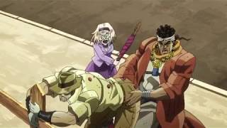 Avdol and Joseph get Stuck Together (Jojo's Bizarre Adventure)