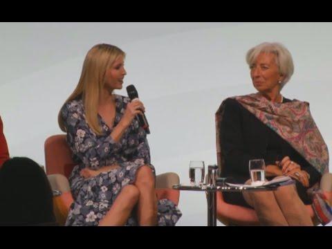 Ivanka Booed For Defending Trump's Attitude Towards Women