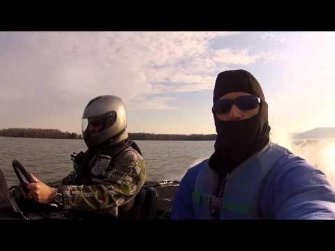 Derek Goes Bass Fishing at Lake Guntersville March 2013