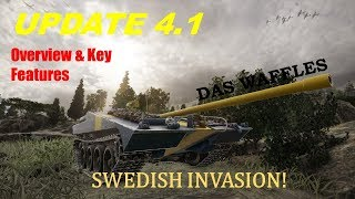 Swedish Premiums and More! | World of Tanks Xbox: Update 4.1 Overview