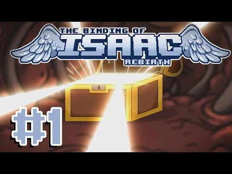 It's Finally Released! (The Binding of Isaac: Rebirth #1)