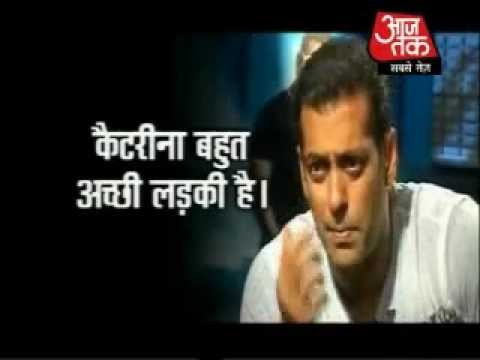 Salman talking about Katrina's Chikni Chameli