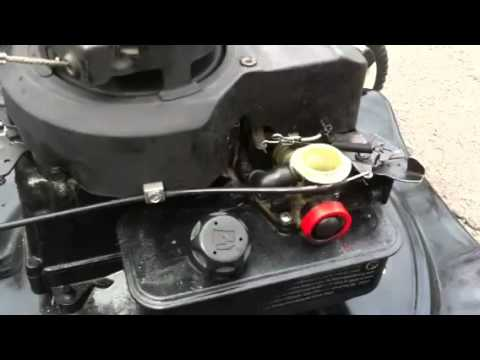 Briggs And Stratton 4hp Idle Problem Youtube