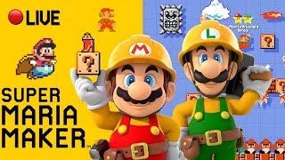 ⭐️Super Maria Maker⭐️ - 100 Mario Expert & Viewer Levels - Live Stream - #39