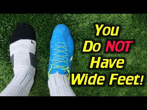 The Truth! - What Are The Best Soccer Cleats/Football Boots for Wide Feet?