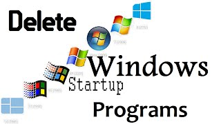 How to Delete Windows Startup Programs - Makes Computer FASTER