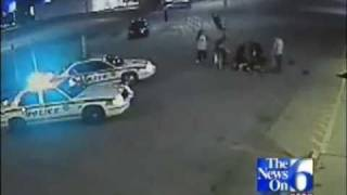 Caught On Tape: Armed Robber Taken Down By Hero Customer