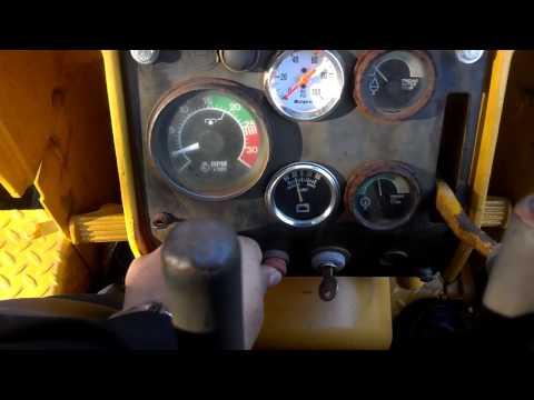 Starting and Driving a John Deere 450C Bulldozer