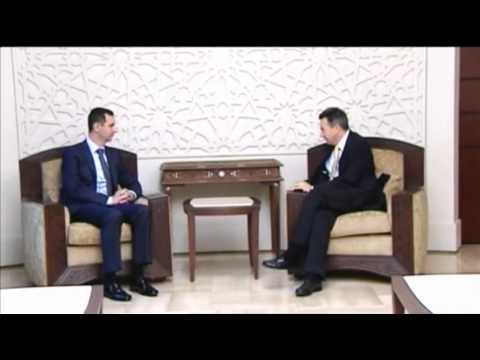 Syria's Assad Holds Talks With Red Cross Chief