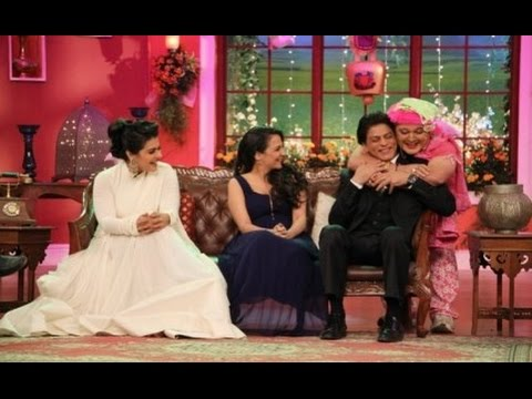 Shahrukh Khan & Kajol promote DDLJ on Comedy Nights with Kapil | New Bollywood Movies News 2014