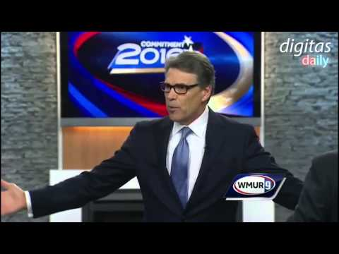 Rick Perry Expertly Handles Hostile Audience Question About Corporate Donors