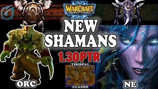 Grubby | Warcraft 3 TFT | 1.30 PTR | ORC v NE on Tirisfal Glades - New Shamans!