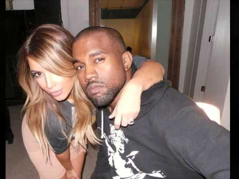 Kim Kardashian & Kanye West - All Of Me & Young + Beautiful