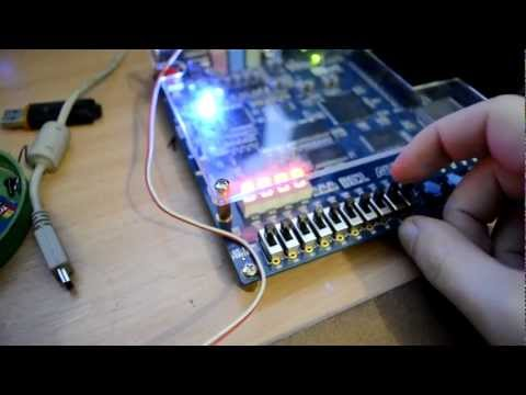 FM radio transmitter in FPGA