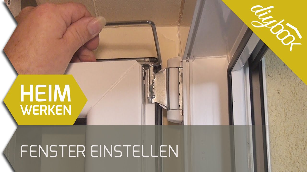 Fenster einstellen 2d youtube for Fenster justieren