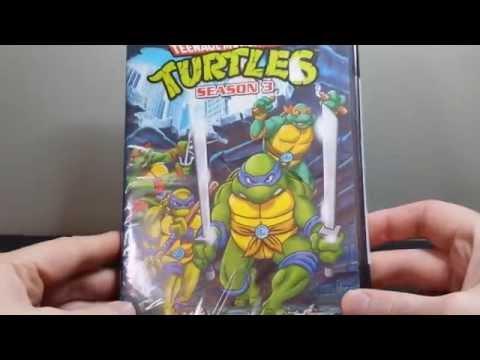 Teenage mutant ninja turtles 1987 season 3 dvd unboxing