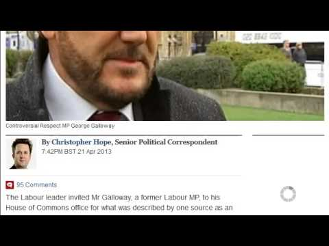 Ed Miliband has 'friendly' meeting with Islamist George Galloway