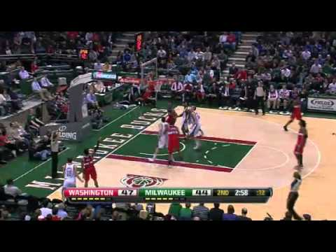 Washington Wizards vs Milwaukee Bucks - February 11, 2013