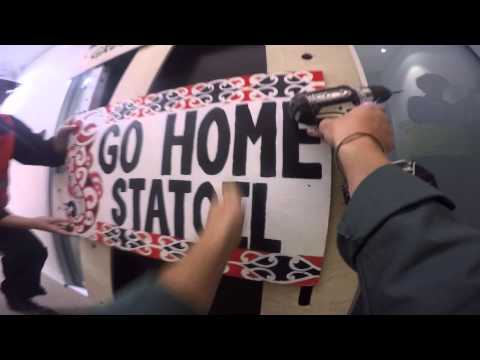 Statoil's NZ Office Barricaded Shut