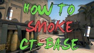 CSGO: Tutorial How to smoke CT-Base on mirage - 3 easy smokes