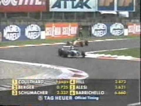 part 3 of the 1995 Italian GP held at Monza Commentary by Bob Varsha and Derek Bell.