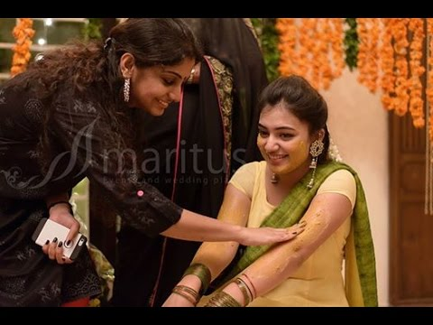 Nazriya and Fahad Fazil wedding arrangements going on in full swing | Marriage Video