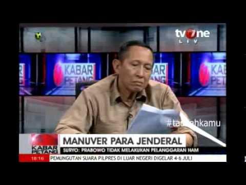 ... Jenderal (di Balik bocornya Surat DKP Prabowo) TV One Full - YouTube