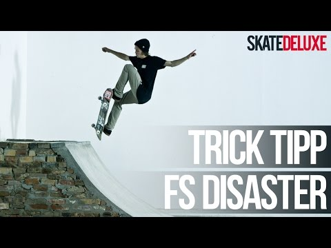 Skateboard Trick Tipp: Frontside Disaster | Deutsch/German | skatedeluxe