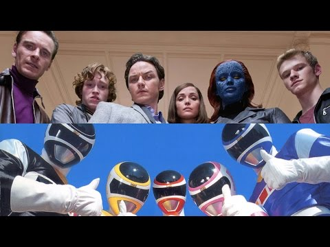 Power Rangers Movie Lands X-Men Duo