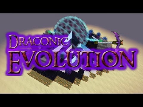 Minecraft Mods: DRACONIC EVOLUTION! (MC MOD REVIEW)