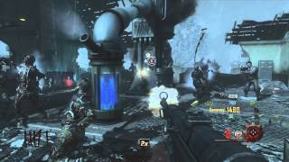 "DEATH BY GIANT ROBOT - Black Ops 2 Zombies ""ORIGINS"" Gameplay"