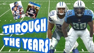 DeMarco Murray Through The Years - NCAA Football 08 - Madden 18