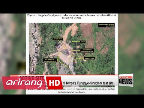 N. Korea's nuclear test site shows 'high-level activity': 38 North