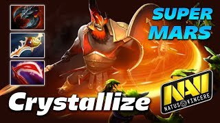 Crystallize MARS - WAR GOD - Dota 2 Pro Gameplay