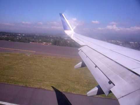 Aterrizaje en Costa Rica - Landing in Costa Rica