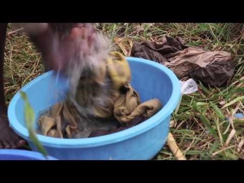 A Dirty Water Source in Rwanda